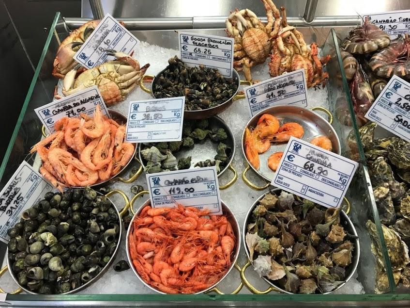 אוכל פירות ים ליסבון פורטוגל