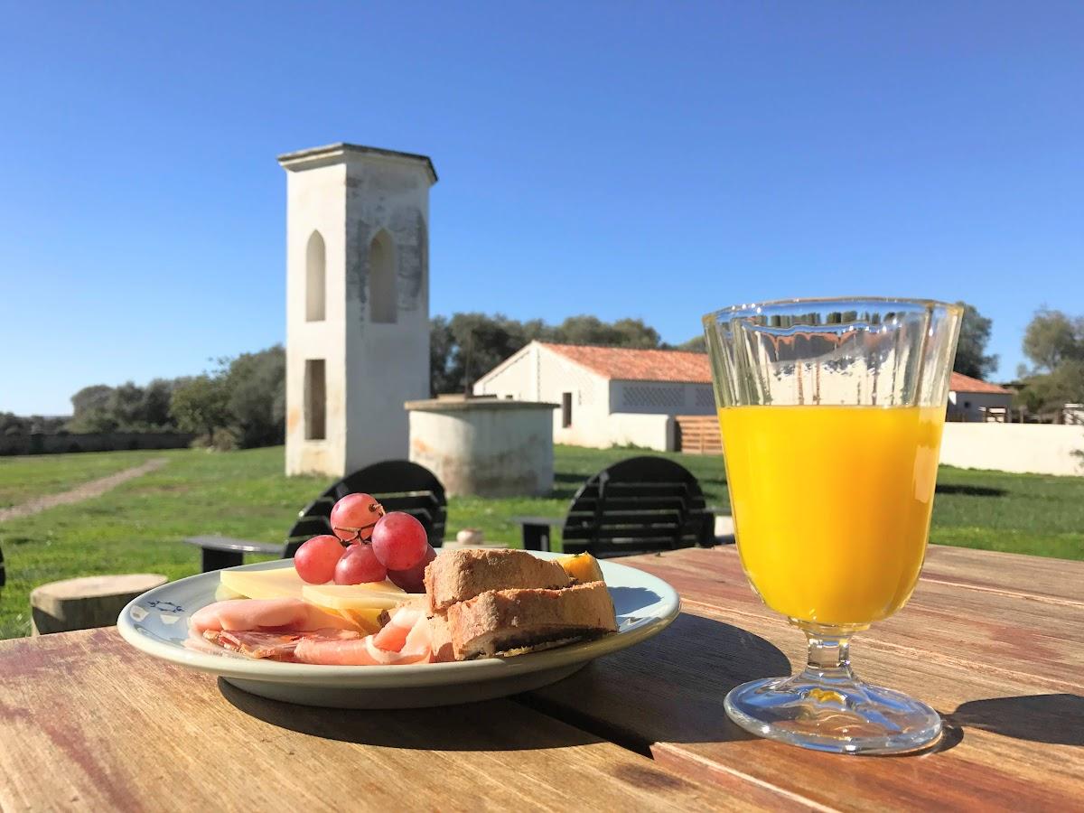 אוכל פורטוגל ארוחת בוקר נוף טיול נופש