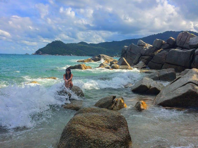 החוף במלון סנטיה (santhyia) שבטונג נאי פאן. מלון מומלץ לחופשה בקופנגן תאילנד