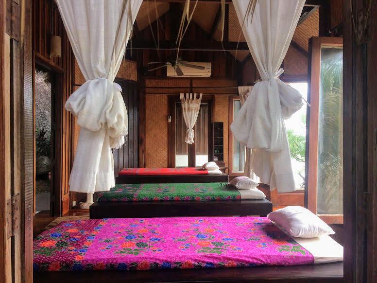 הספא של הסארי קנטנג (sarikantang) בהאדרין. מלון מומלץ בקופנגן, תאילנד
