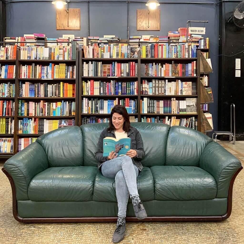 חנות הספרים הגדולה ביותר בקליפורניה- The last book store/. מתוך טיול בלוס אנג'לס: מה עושים, איפה ישנים ואיזה מקומות אסור לפספס בעיר המלאכים