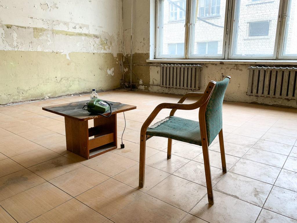 קובנה: העיר הגי מגניבה בליטא. סט הצילומים של הסדרה צ'רנוביל