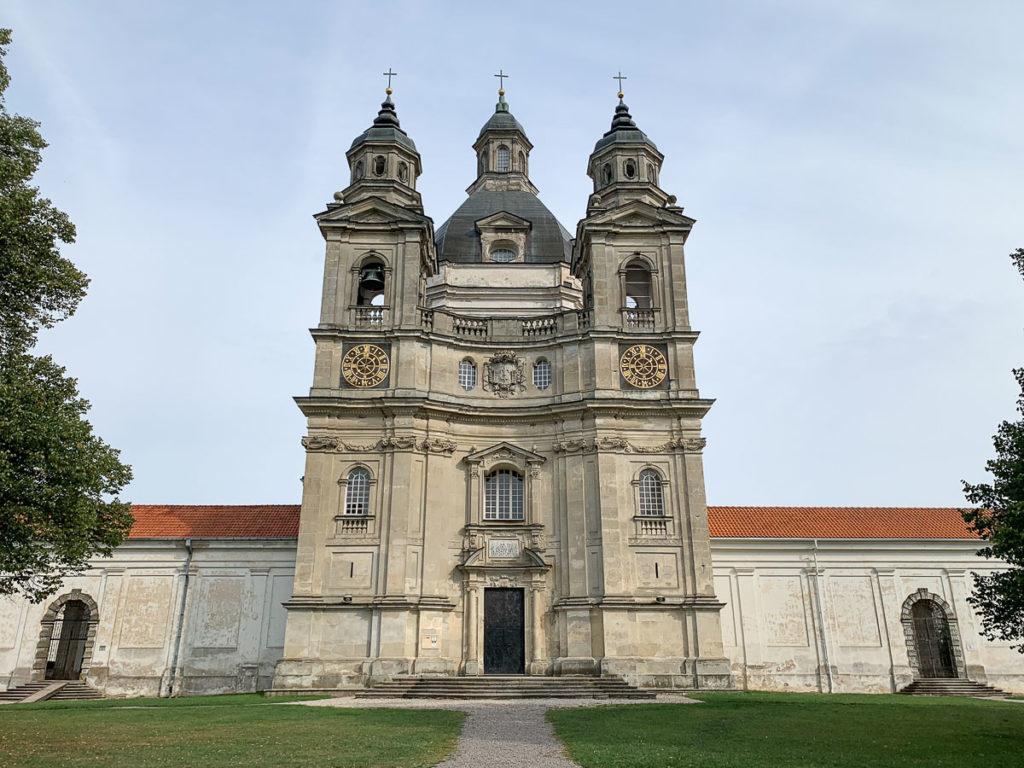 קובנה: העיר הגי מגניבה בליטא.  בתמונה: מנזר Pažaislis